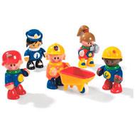 Muñecos mis primeros amigos el conjunto