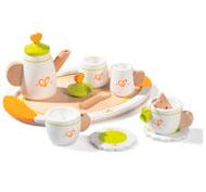 Cocinita madera juego de té el conjunto