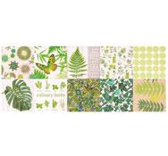Lote de servilletas - greenery (33 x 33 cm), 20 ud