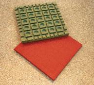 Baldosa suelo seguridad grosor 3,5 cm  el m2
