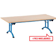 Mesa plegable medit. 150 x 70 t6