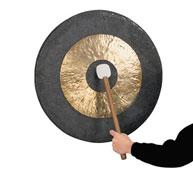 Gong chino con maza 50cm